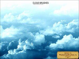 Кисти нежные облака