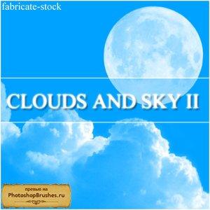 Кисти облака и небо