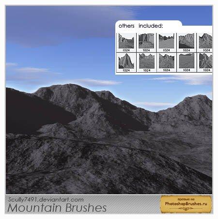 Кисти горы