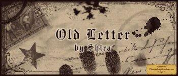 Кисти старое письмо