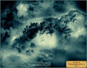 Кисти штормовые облака