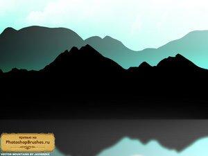 Кисти векторные горы