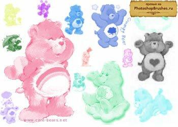 Кисти милые медвежата