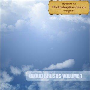 Кисти летние облака
