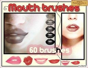 Кисти сочные губы