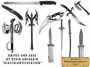 Кисти ножи и сабли