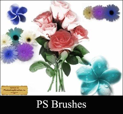 Кисти букет цветов