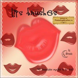 Кисти манящие губы