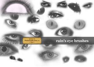 Кисти глаза и ресницы