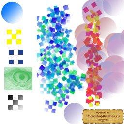 Кисти простая мозаика