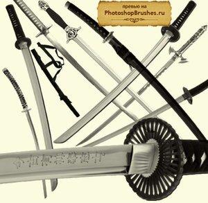 Кисти самурайские мечи